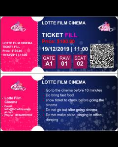 Ticket Fill